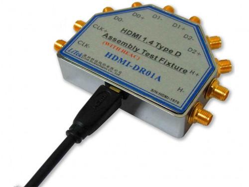 [HDMI-DR01A] HDMI1.4 Type D Receptacle Fixture